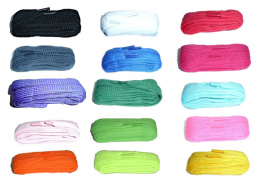 100cm BRITISH QUALITY Chunky Extra wide Flat Shoe Laces Various colours